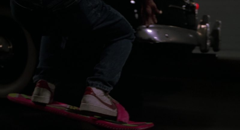 Nike Sneakers Worn by Michael J. Fox (Marty McFly) in Back to the Future Part 2 (1989) - Movie Product Placement
