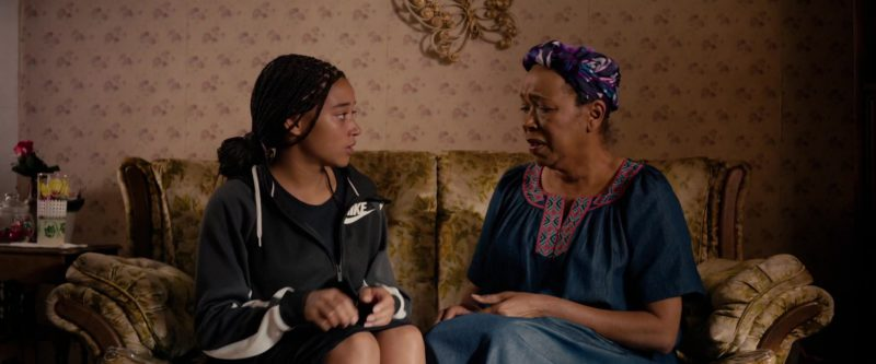 Nike Women's Jacket With Hoodie Worn by Amandla Stenberg in The Hate U Give (2018) Movie Product Placement