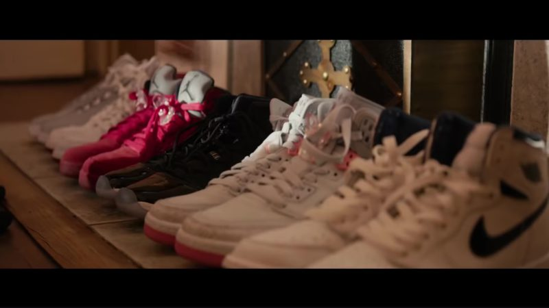 Nike Women's Sneakers in The Hate U Give (2018) Movie Product Placement