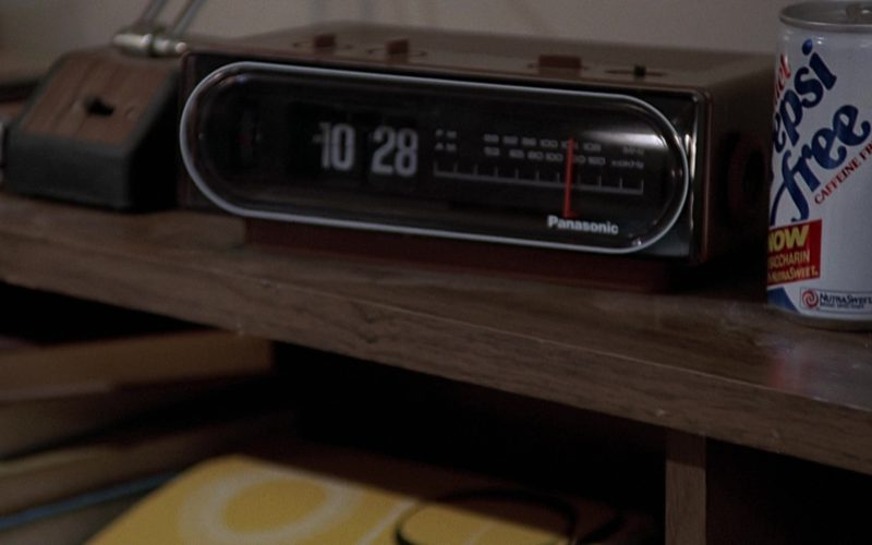 Panasonic Clock and Diet Pepsi Can in Back to the Future (4)