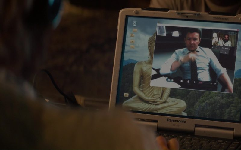 Panasonic Notebook And Skype Used by Sharlto Copley in Gringo