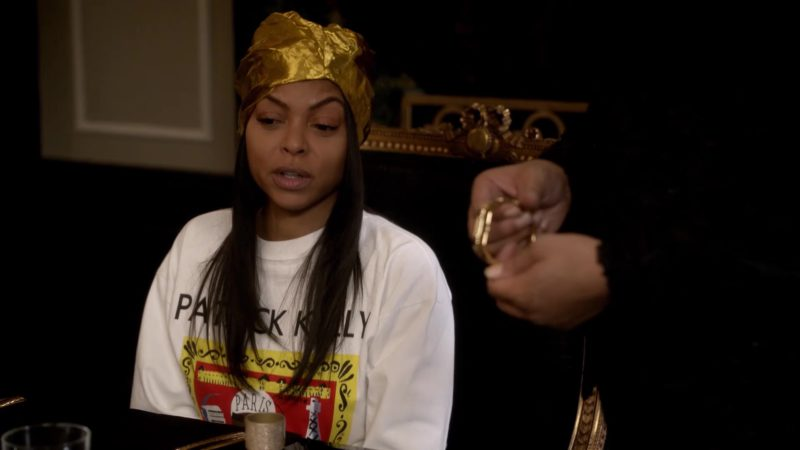 Patrick Kelly Long Sleeve T-Shirt Worn by Taraji P. Henson in Empire: Of Hardiness Is Mother (2018) TV Show Product Placement