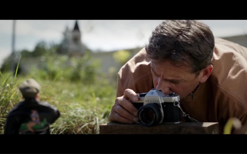 Pentax Camera Used by Steve Carell in Welcome to Marwen (1)