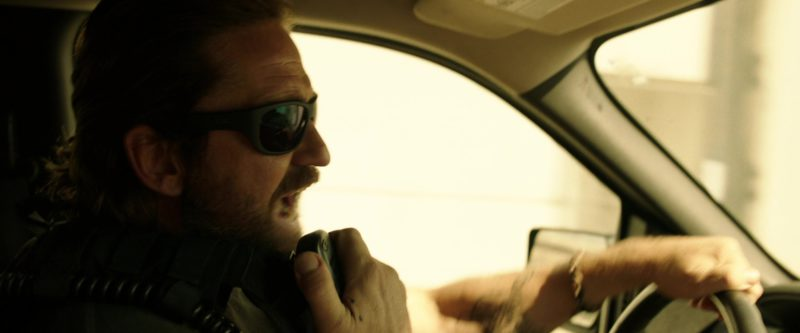 Ray-Ban Sunglasses Worn by Gerard Butler in Den of Thieves (2018) Movie Product Placement