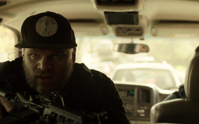 Skeleton Key MFG Snapback Cap Worn by Evan Jones in Den of Thieves