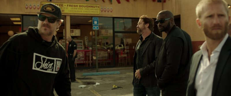 Skin Industries Hoodie in Den of Thieves (2018) Movie Product Placement