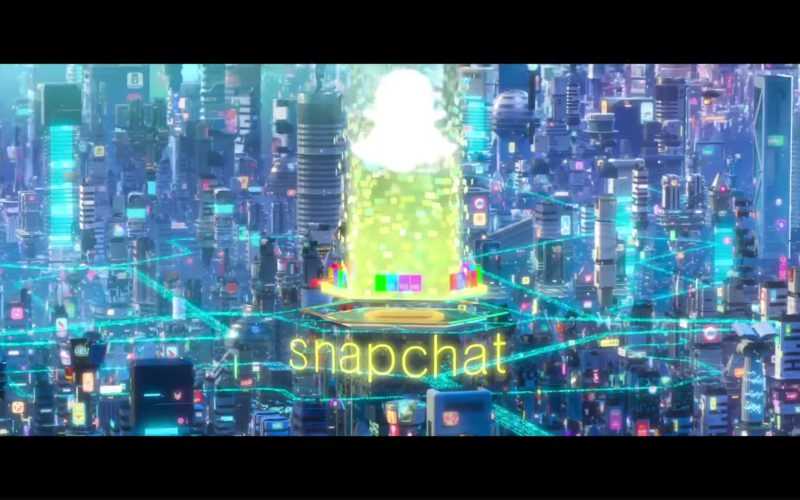 Snapchat in Ralph Breaks the Internet Wreck-It Ralph 2 (1)