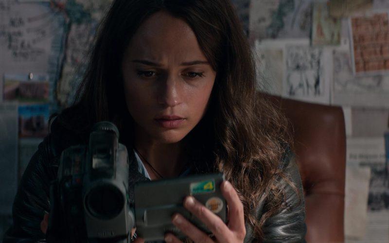 Sony Camcorder Used by Alicia Vikander (Lara Croft) in Tomb Raider (5)
