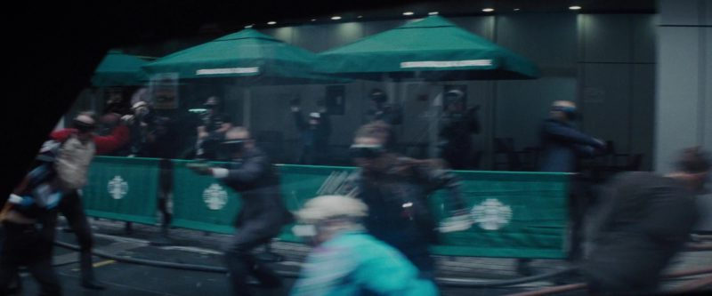 Starbucks Coffeehouse in Ready Player One (2018) Movie Product Placement