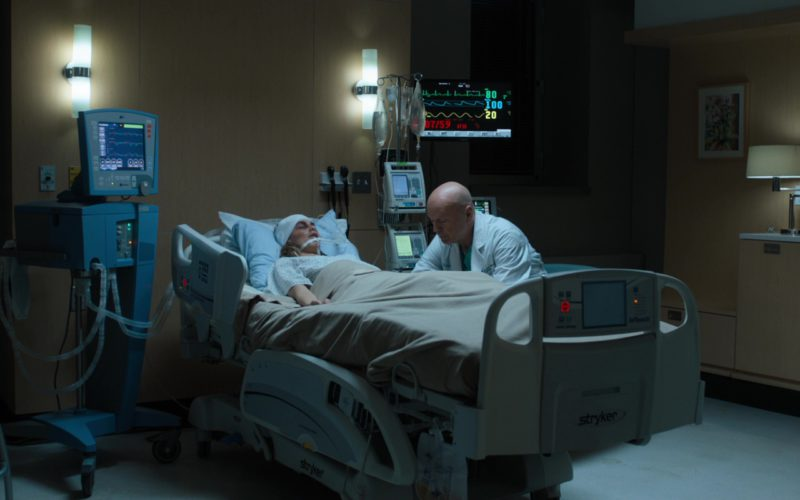 Stryker Hospital Bed Used by Camila Morrone in Death Wish (1)