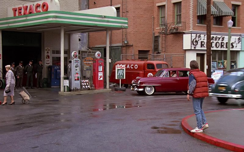 Texaco Gas Station and Nike Shoes Worn by Michael J. Fox (2)