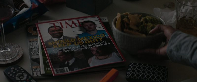 Time Magazine in Gringo (2018) - Movie Product Placement