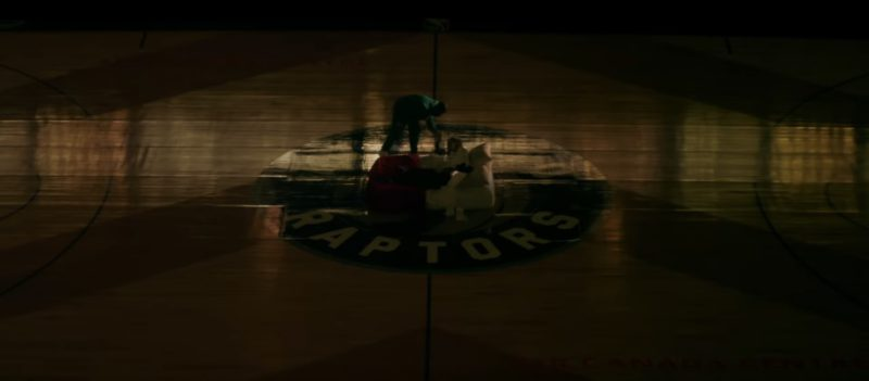 Toronto Raptors in I'm Upset by Drake (2018) Music Video Product Placement