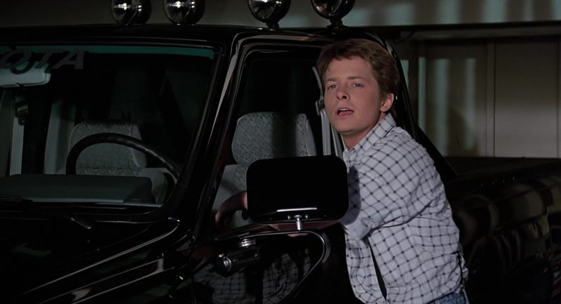 Toyota SR5 Pickup Truck in Back to the Future (1985) - Movie Product Placement
