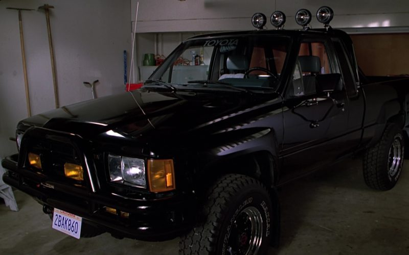 Toyota SR5 Pickup Truck in Back to the Future Part 2