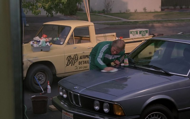 Turtle Wax, BMW 733i [E23] and Adidas Tracksuit Worn by Thomas F. Wilson (1)