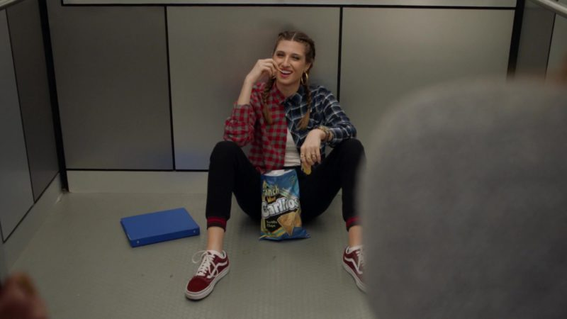 Vans Sneakers Worn by Emily Arlook in Grown-ish: Back & Forth (2018) - TV Show Product Placement