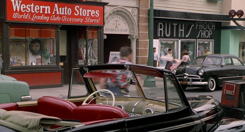 Western Auto Stores in Back to the Future Part 2 (1989) Movie Product Placement