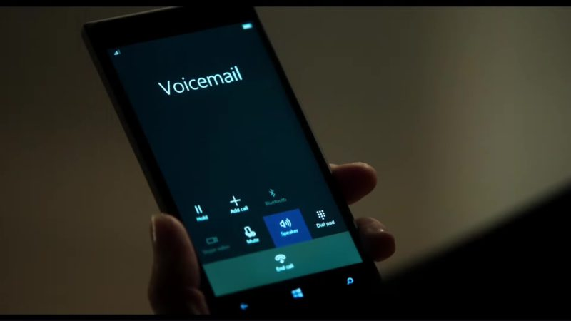 Microsoft Phone Used by Emma Thompson in The Children Act (2017) Movie