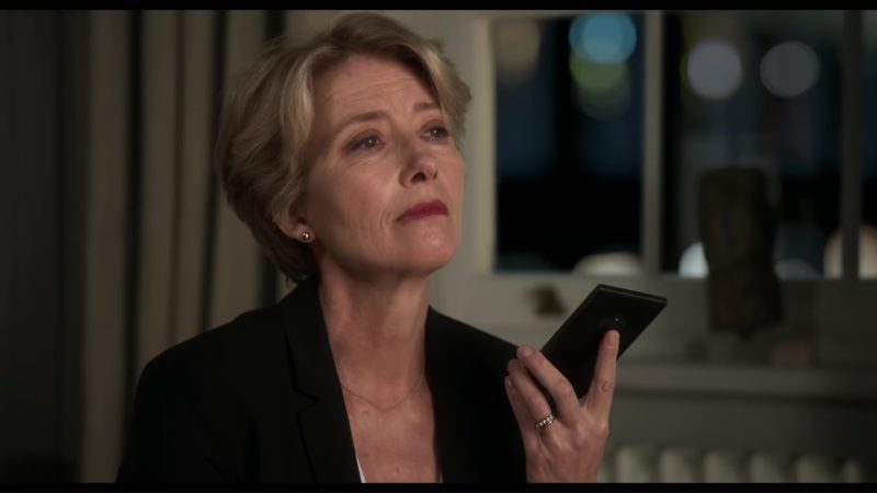 Microsoft Phone Used by Emma Thompson in The Children Act (2017) - Movie Product Placement
