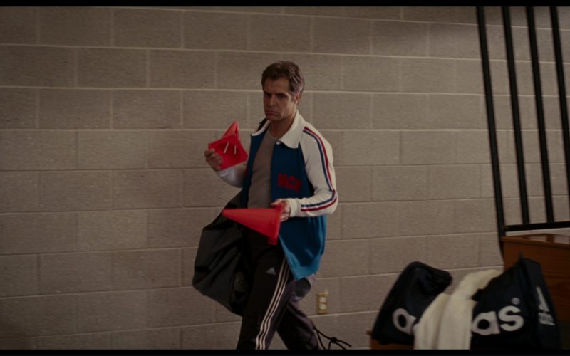 Adidas Jacket, T-Shirt, Pants, Bag and Sneakers Worn by Henry Czerny (1)