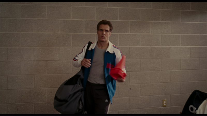 Adidas Jacket, T-Shirt, Pants, Bag and Sneakers Worn by Henry Czerny in The Pink Panther (2006) - Movie Product Placement
