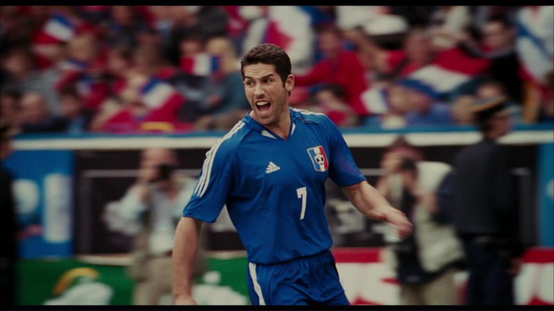 Adidas Soccer Apparel in The Pink Panther (2006) Movie Product Placement