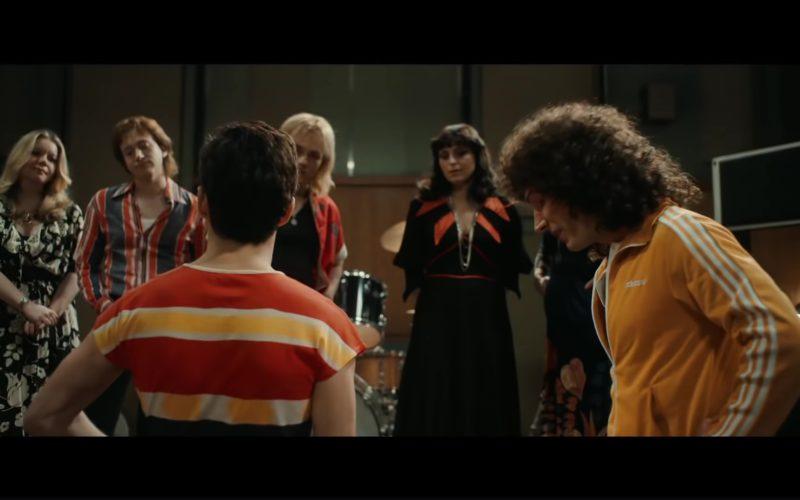 Adidas Yellow Jacket Worn by Joseph Mazzello in Bohemian Rhapsody (1)