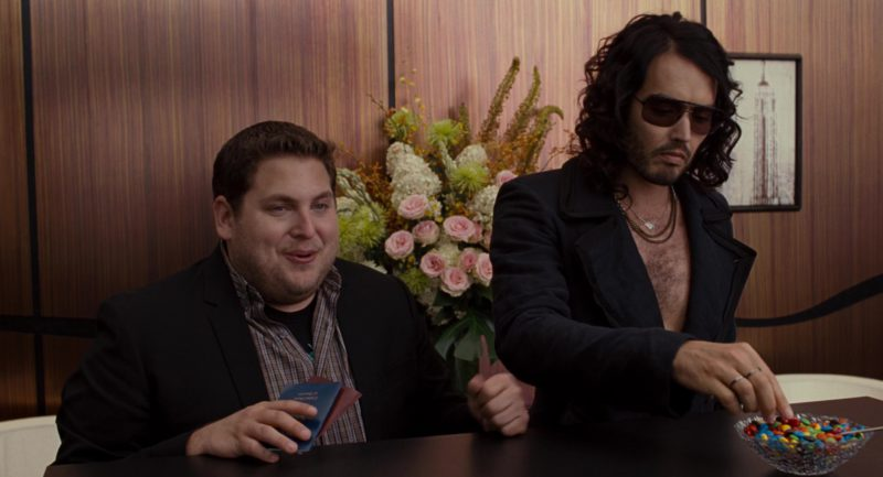 Alexander McQueen 4099 Sunglasses Worn by Russell Brand in Get Him to the Greek (2010) Movie Product Placement