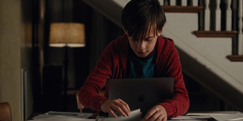 Apple MacBook Laptop Used by Jaeden Lieberher in The Book of Henry (2017) Movie Product Placement
