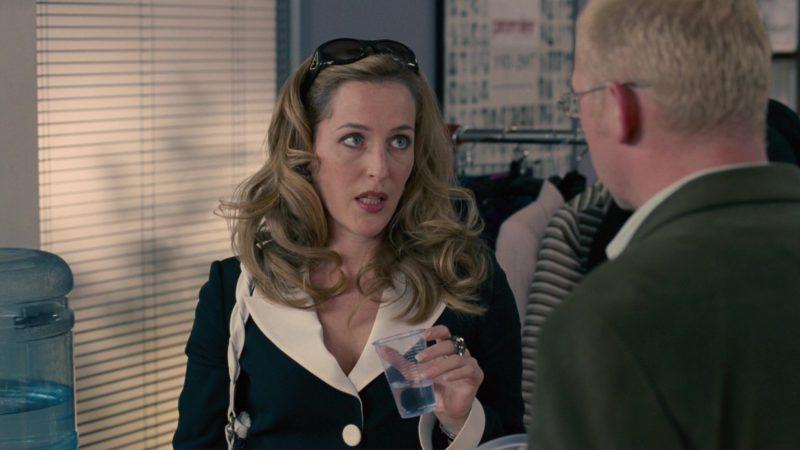Armani Sunglasses Worn by Gillian Anderson in How to Lose Friends & Alienate People (2008) - Movie Product Placement