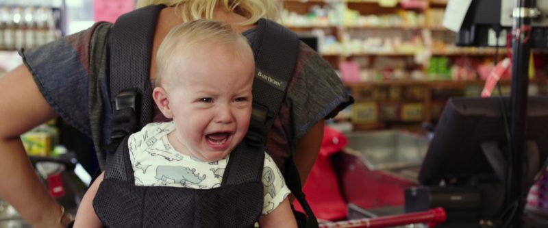 BabyBjörn Baby Carrier in I Feel Pretty (2018) Movie Product Placement