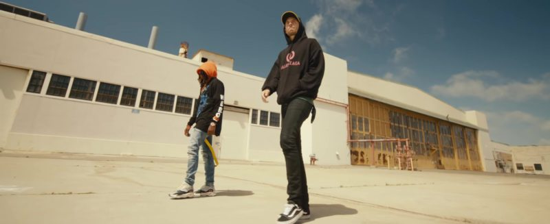"Balenciaga Hoodie and Vans Shoes Worn by G-Eazy in ""Power"" (2018) - Official Music Video Product Placement"