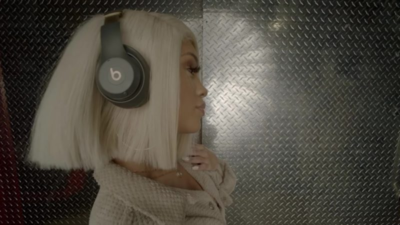 Beats Headphones Used by Saweetie in B.A.N. (2018) Official Music Video Product Placement