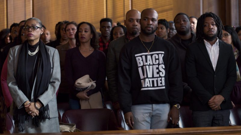 Black Lives Matter Sweatshirts in Orange Is the New Black: Be Free (2018) TV Show Product Placement