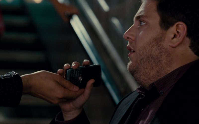 Blackberry Phone Used by Jonah Hill in Get Him to the Greek (1)