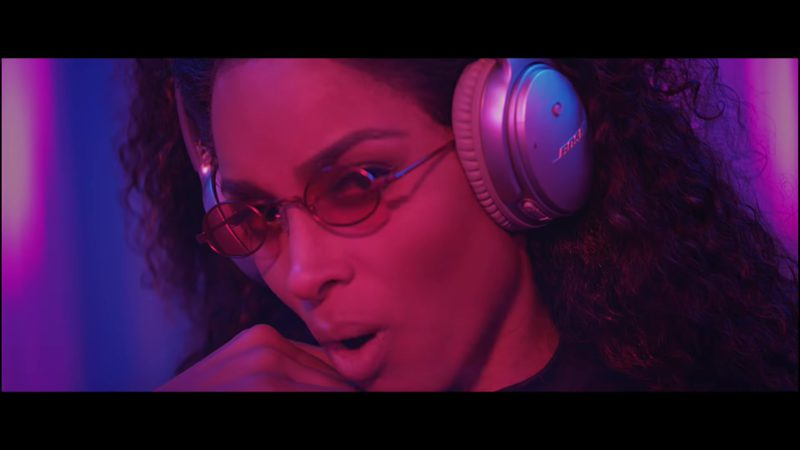 Bose Headphones Worn by Ciara in Level Up (2018) - Official Music Video Product Placement