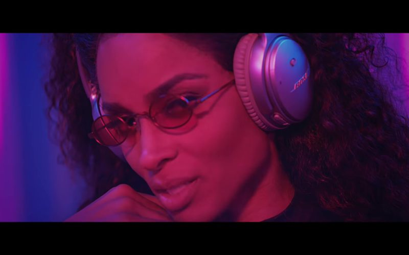 Bose Headphones Worn by Ciara in Level Up (4)