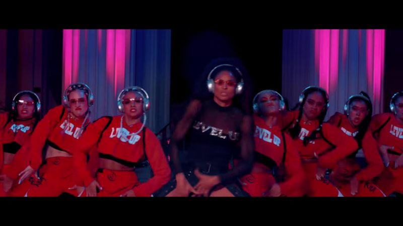 Bose Headphones Worn by Models in Level Up by Ciara (2018) Music Video Product Placement