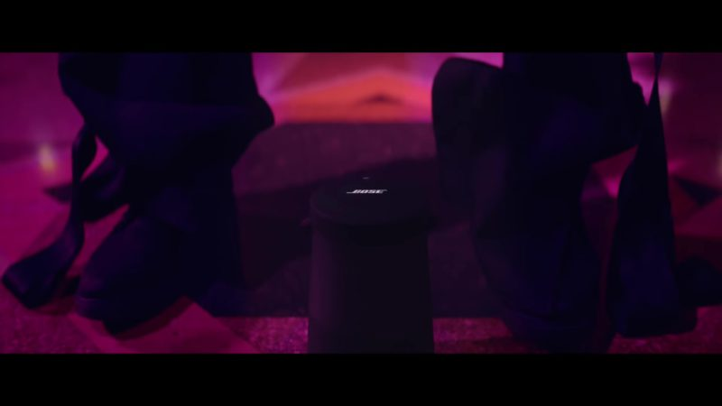 Bose Speaker in Level Up by Ciara (2018) Official Music Video Product Placement
