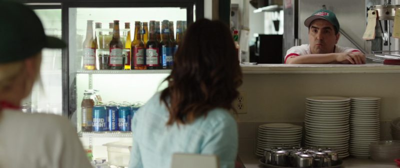 Budweiser and Bud Light Beer in Overboard (2018) Movie Product Placement