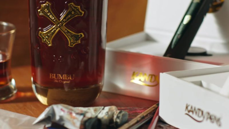 "Bumbu Rum and KandyPens in ""No Brainer"" by DJ Khaled ft. Justin Bieber, Chance the Rapper, Quavo (2018) Official Music Video Product Placement"