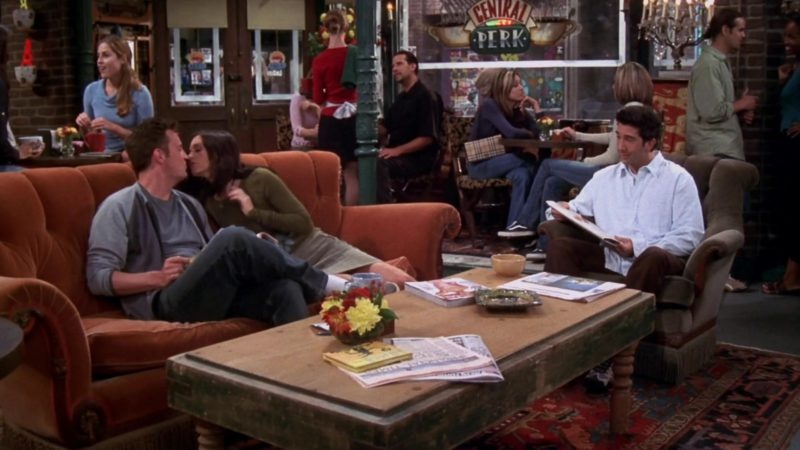 Burberry Bag and Vans Shoes in Friends: The One with Ross's Tan (2003) TV Show Product Placement