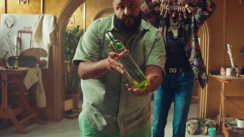 """CÎROC Apple Vodka in """"No Brainer"""" by DJ Khaled ft. Justin Bieber, Chance the Rapper, Quavo (2018) - Official Music Video Product Placement"""