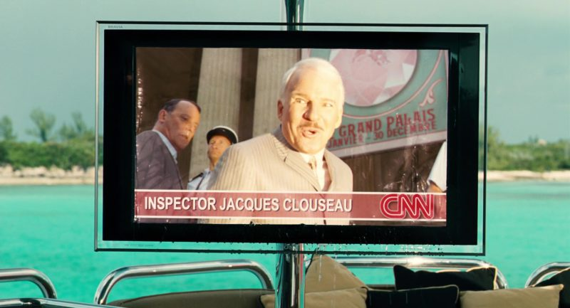 CNN Channel in The Pink Panther 2 (2009) - Movie Product Placement