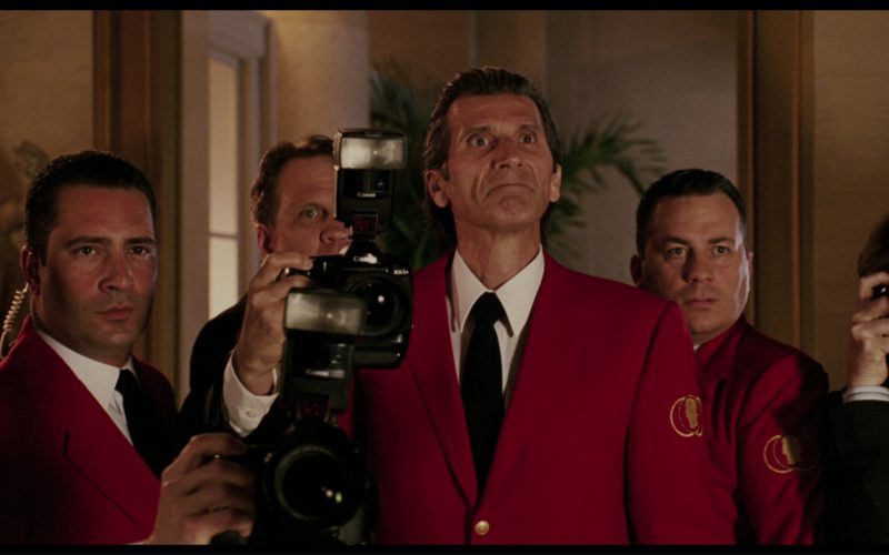 Canon Cameras in The Pink Panther (2006)
