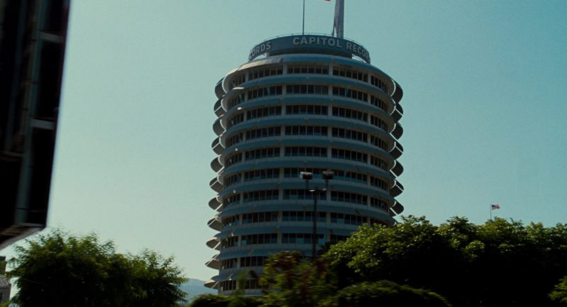 Capitol Records (Record Label) Building in Get Him to the Greek (2010) Movie Product Placement