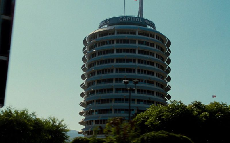 Capitol Records (Record Label) Building in Get Him to the Greek