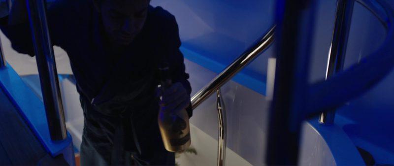 Champagne Armand de Brignac Brut Gold Drunk by Eugenio Derbez (Leonardo) in Overboard (2018) - Movie Product Placement