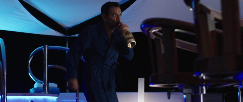 Champagne Armand de Brignac Brut Gold Drunk by Eugenio Derbez (Leonardo) in Overboard (2018) Movie Product Placement